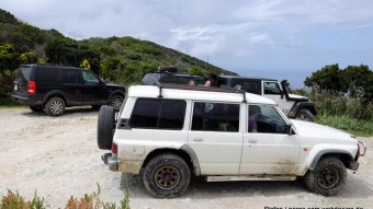 Korsisches Rallyetaxi