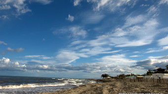 Strand in Aleria