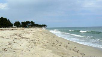 Strand in Ghisonaccia