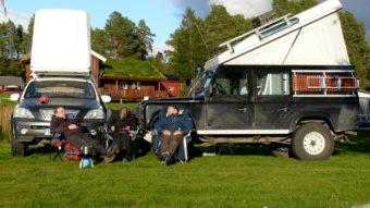 Campingplatz in Elgå