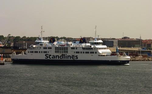 Fähre von Helsingör nach Helsingborg