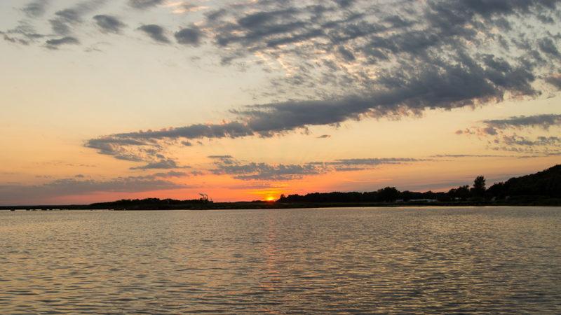 Sonnenuntergang in Tredenborg