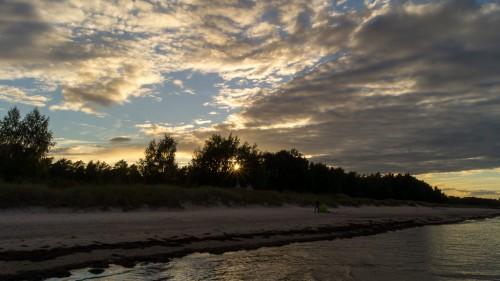 Sonnenuntergang Böda Sand