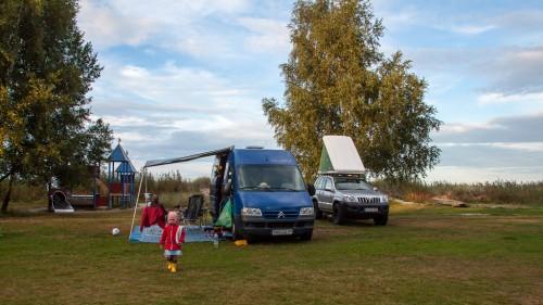 Camping auf Öland