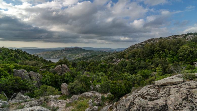 Aussicht Monte Limbara