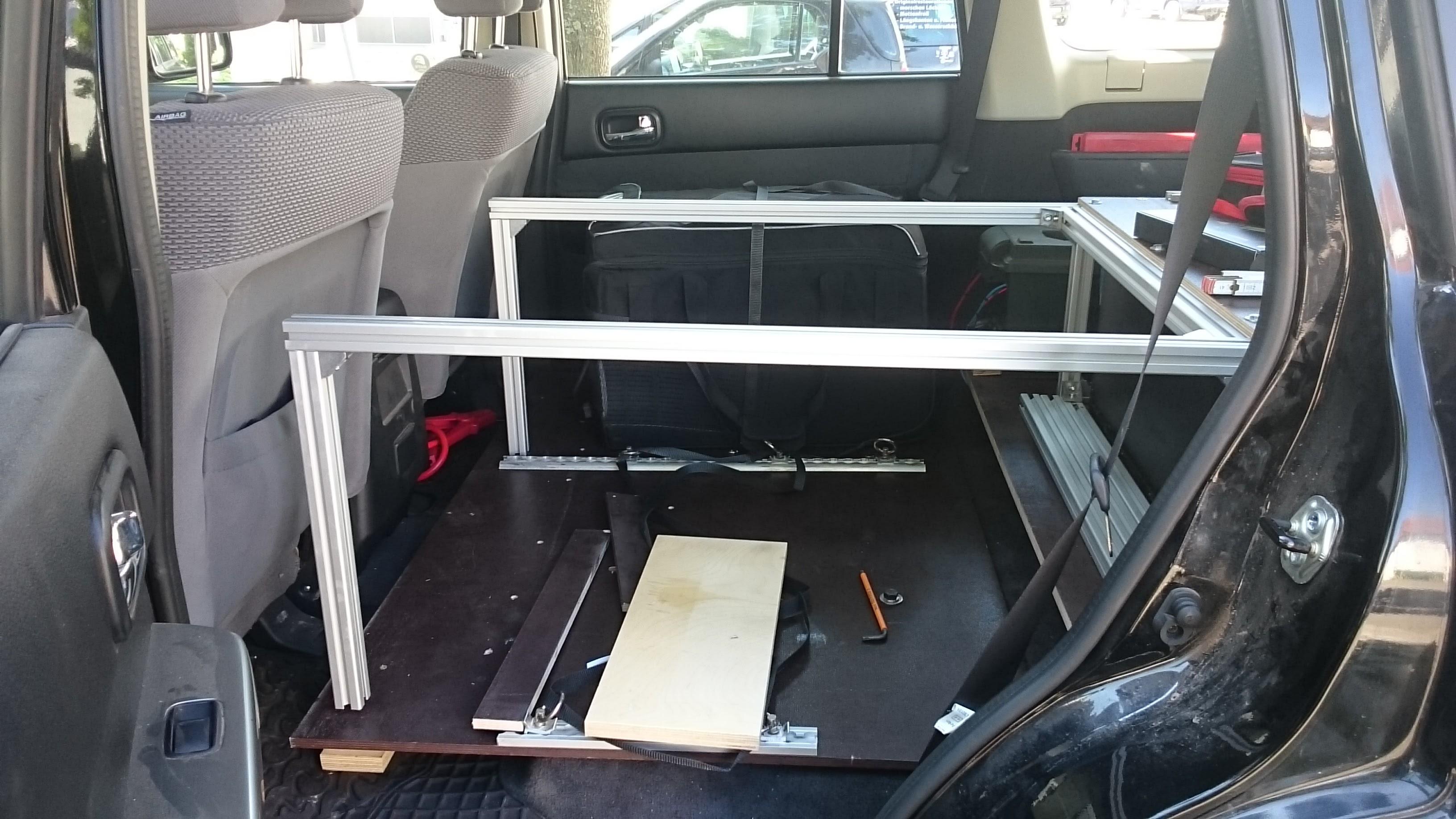 schlafen im auto sgm travel. Black Bedroom Furniture Sets. Home Design Ideas