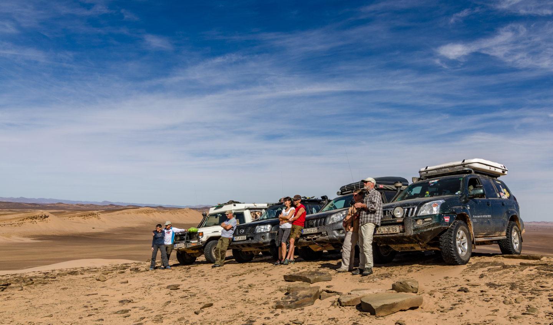 Gruppenfoto Marokko