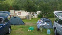 Erster Zeltplatz in Nordnes (Saltdalen)